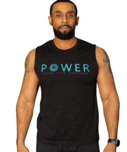 POWER Mens Muscle Shirt   6T4A8565   Grind Life Athletics