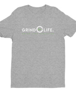 Athleisure | DYNAMIC DUO – White & Lime – Short-Sleeve Men's Tee | Grind Life Athletics