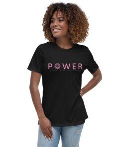 Athleisure | POWER Womens Shirt | Black | Grind Life Athletics