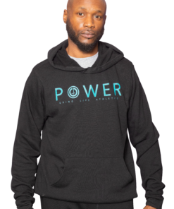 POWER Mens Pullover Workout Hoodie | 6T4A8611 | Grind Life Athletics
