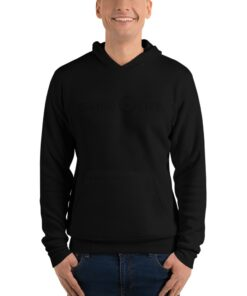 Workout Hoodies | Grind Life G SILHOUETTE Black Mens Pullover | Grind Life Athletics
