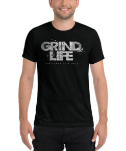 GLA Stone Workout Shirt Men | Black | Grind Life Athletics