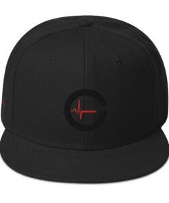 Grind Life G REDLINE Men's Snapback Hat | Front | Grind Life Athletics