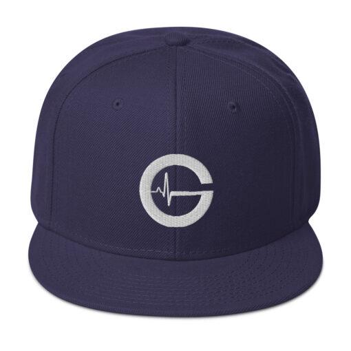 Grind Life G Mens Snapback Hat | Navy | Grind Life Athletics