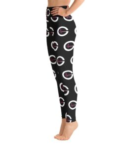 DYNAMIC DUO XDri High Waisted Womens Workout Leggings | Pink | Left | Grind Life Athletics