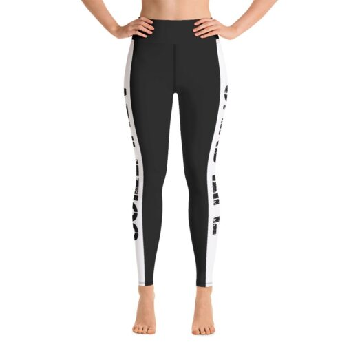 GLA Rush High Waisted Womens Workout Leggings   Front   Grind Life Athletics