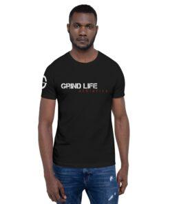 GLA Rush Nx Mens Athleisure Shirt | Front | Black | Grind Life Athletics