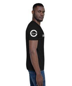 GLA Rush Nx Mens Athleisure Shirt | Side | Black | Grind Life Athletics