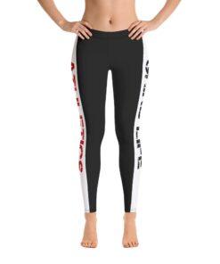 GLA Rush RB Womens Leggings | Front | Grind Life Athletics