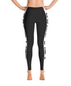 GLA Rush Womens Leggings | Back | Grind Life Athletics