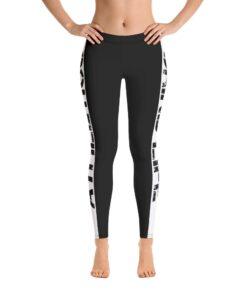 GLA Rush Womens Leggings | Front | Grind Life Athletics