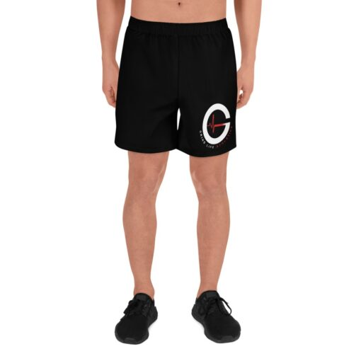 DYNAMIC DUO Mens Running Shorts | Front | Black | Grind Life Athletics