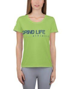 GLA GW Womens Workout Shirt | Front | Grind Life Athletics