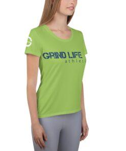GLA GW Womens Workout Shirt | Right | Grind Life Athletics