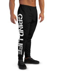 GLA SWAG Mens Joggers | Black | Right | Grind Life Athletics
