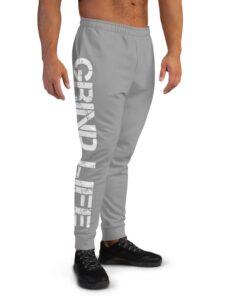 GLA SWAG Mens Joggers | Grey | Grind Life Athletics