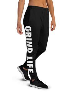 GLA SWAG Womens Joggers | Right | Black | Grind Life Athletics
