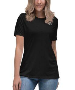 GLA SWAG Womens Tshirt | B&W | Front | Grind Life Athletics