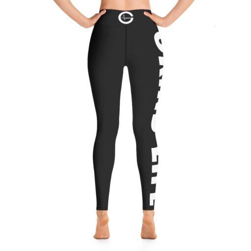 GLBW Womens Workout Leggings | Back | White | Grind Life Athletics