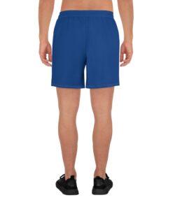 Power II Mens Running Shorts | Back | Royal | Grind Life Athletics