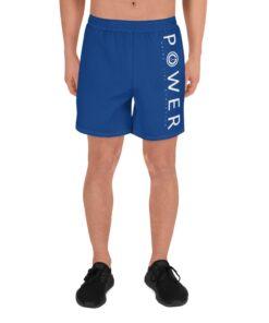 Power II Mens Running Shorts | Front | Royal | Grind Life Athletics