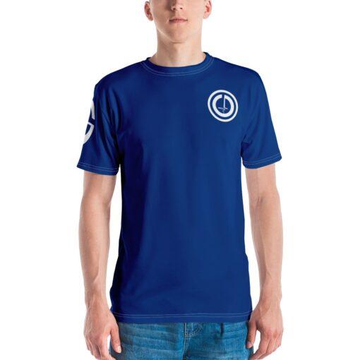 Power II Mens T-Shirt | Royal | Front | Grind Life Athletics