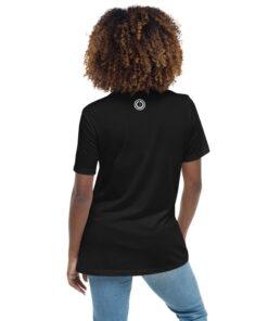 POWER BXT Womens Athleisure Shirt | Back | Black | Grind Life Athletics