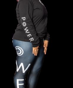 POWER IV Plus Size Leggings | Inner Pocket | White | 6T4A8538 | Grind Life Athletics