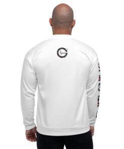 GLA Jungle Print Mens Bomber Jacket   Back   Grind Life Athletics