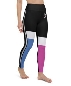 ColorBlocks-Workout-Leggings-Pink-Blue-Front-Right-Grind-Life-Athletics