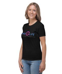 ColorBlocks-Workout-shirt-Pink-Blue-Left-Grind-Life-Athletics