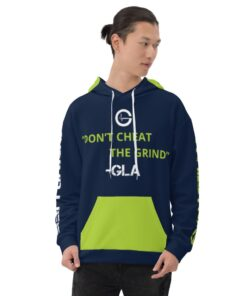 GLA-100-Workout-Hoodie-1-Navy-Lime-Front-Grind-Life-Athletics