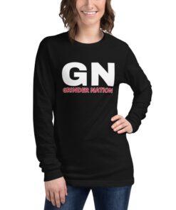 GLA-Grinder-Nation-Long-Sleeve-Shirt-Black-Front-Grind-Life-Athletics