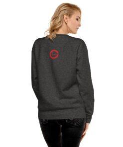 Grinder-Nation-Premium-Unisex-Fleece-Pullover-RB-White-DG-Back-Grind-Life-Athletics