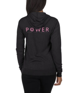 GLA-Power-Zip-Up-Hoodie-Pink-Char-Back-Grind-Life-Athletics